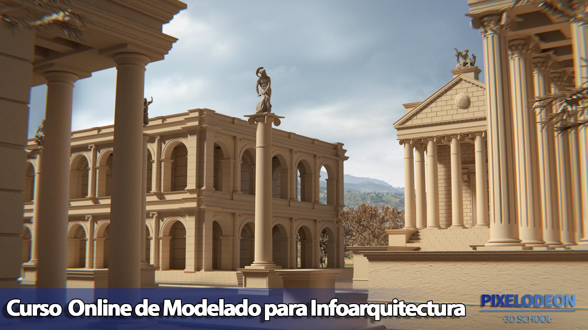 templo_Curso Modelado Infoarquitectura-PIXELODEON3DSchool